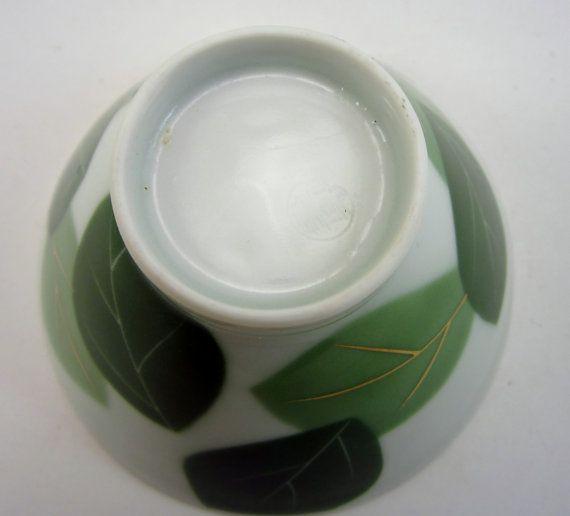 Vintage Japanese Sake Cup Retro Asian Wine Glass by SenoraMuertos