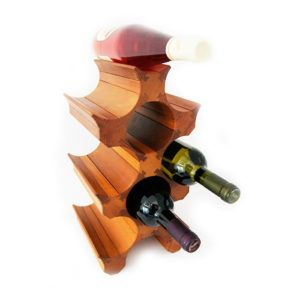 9 Bottle Wine Rack Holder