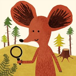 Il Pettirosso che Ride: Un topolino curioso - Aniscience App
