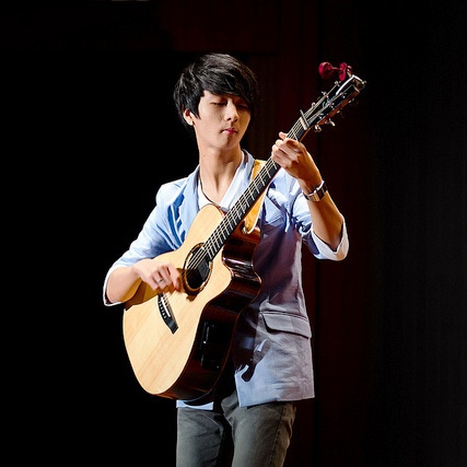 Sungha Jung. He is my guitar Role model!:) -Anna chen