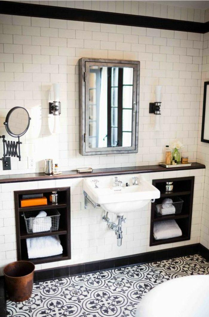 Les 25 meilleures id es concernant faience murale sur - Carrelage salle de bain style ancien ...