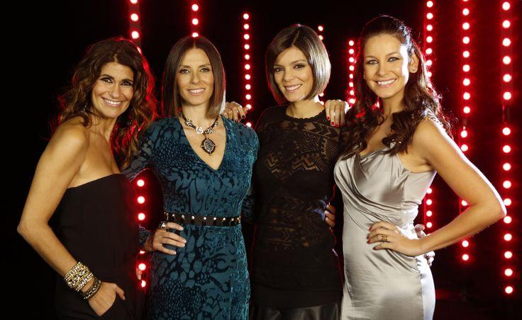 Apresentadoras do programa #Passadeira Vermelha do canal #SIC Caras