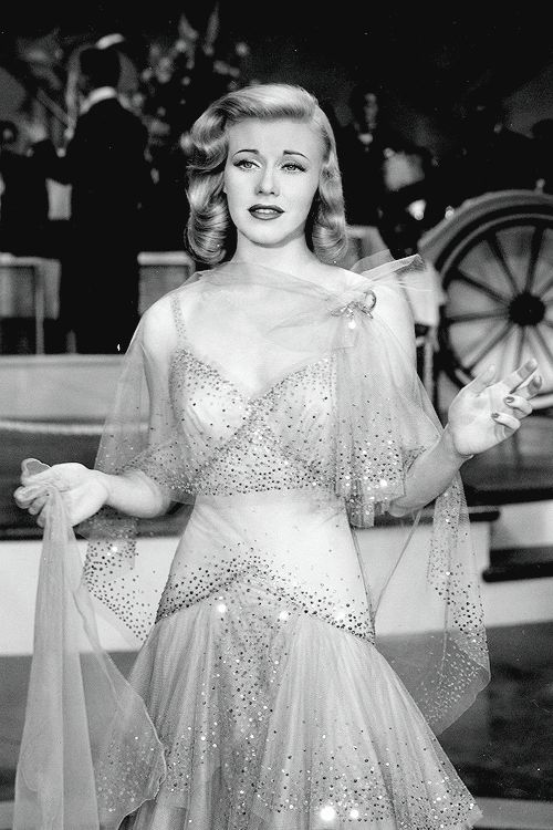 Ginger Rogers in Vivacious Lady (1938)!! That dress is stunning!