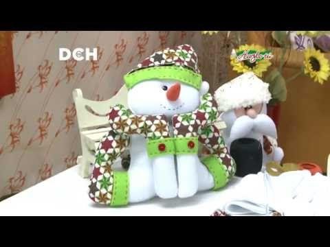 Muñeco de Nieve - Yasna Pino - Casa Puchinni - YouTube