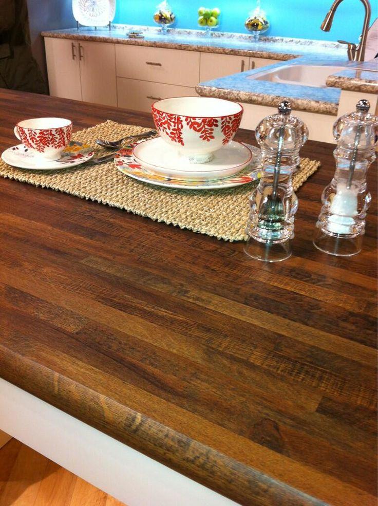 Wilsonart Premium Laminate: Mill Oak Pattern With Crescent Edge