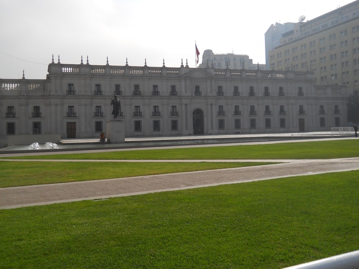 * La Moneda, Santiago