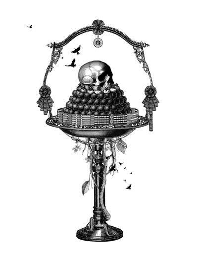 Dan Hillier skull