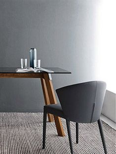 Calligaris | Amelie Dining Chair | Stylish, Contemporary And Sophisticated  | Available In Fabric And