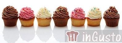 Ricette coperture cupcakes con dosi in grammi