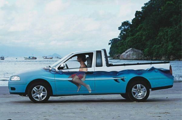 #Surf #Truck #LOL Imagine how popular this #Dude is!