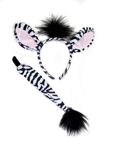 Zebra Costume Kit
