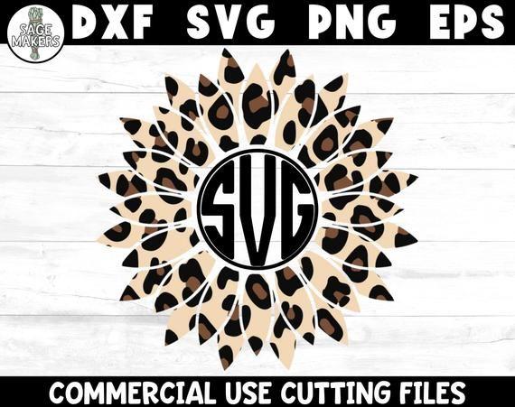 Download Sunflower SVG Design Sunflower Monogram Svg Files For ...