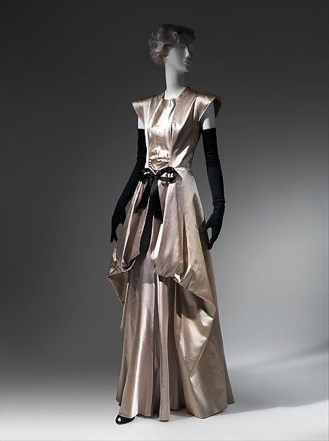 Evening dress Designer: Charles James (American, born Great Britain, 1906–1978) Date: 1945 Culture: American
