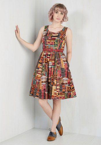 Archive Got the Power Dress | Mod Retro Vintage Dresses | ModCloth.com