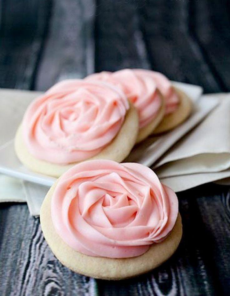 Cookies rose cake - Rose cake : 10 gâteaux de rêve repérés sur Pinterest - Elle…