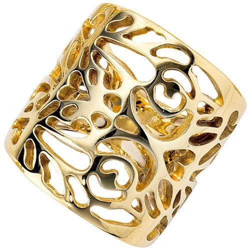 Damen-Ring Breite ca. 21,2 mm 14 Karat (585) Gelbgold 58 (18.5) Dreambase, http://www.amazon.de/dp/B00AWAMROU/ref=cm_sw_r_pi_dp_.Bgftb1Z14FYX @DiamondZul