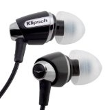 Klipsch IMAGE S4 In-Ear Enhanced Bass Noise-Isolating Headphones (Black) (Electronics)By Klipsch            Click to see price