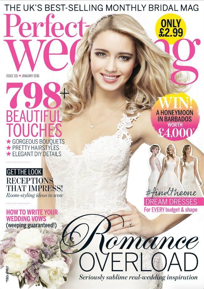 Perfect Wedding Magazine Uk cover image featuring Ariane