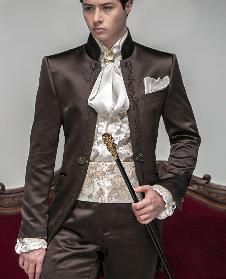 sposo barocco - Italienische Bräutigam Anzüge, Modell: B19-(532)