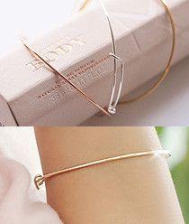 Slim Line Bangle Bracelet