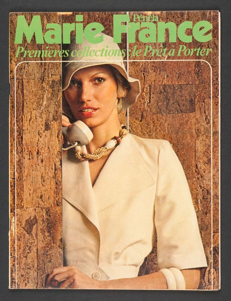 39 marie france 39 french magazine pret a porter issue february 1973 in books comics magazines. Black Bedroom Furniture Sets. Home Design Ideas