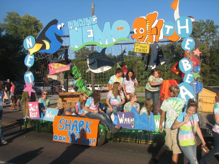 Campsite Setting Relay For Life Finding Nemo