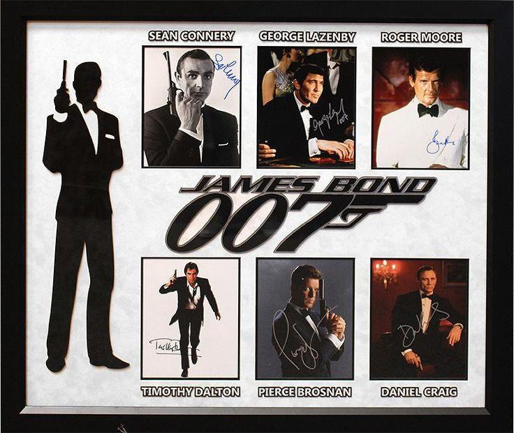 """James Bond"" Six Photo Collage!"