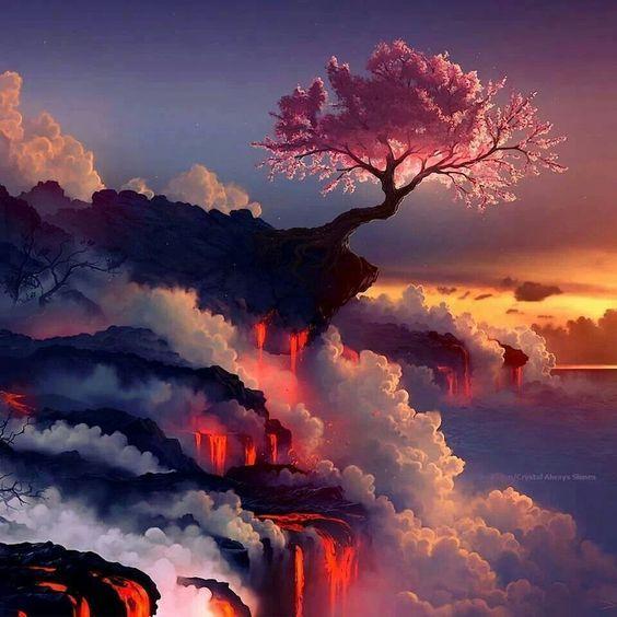 Fantasy Landscape Wallpaper: 46 Best Fyp_storm+landscape Images On Pinterest