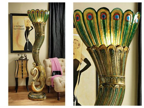 Floor-Lamps-For-Living-Room-Art-Deco-Torchiere-Gold-Unique-Style-Peacock-Lamp-70