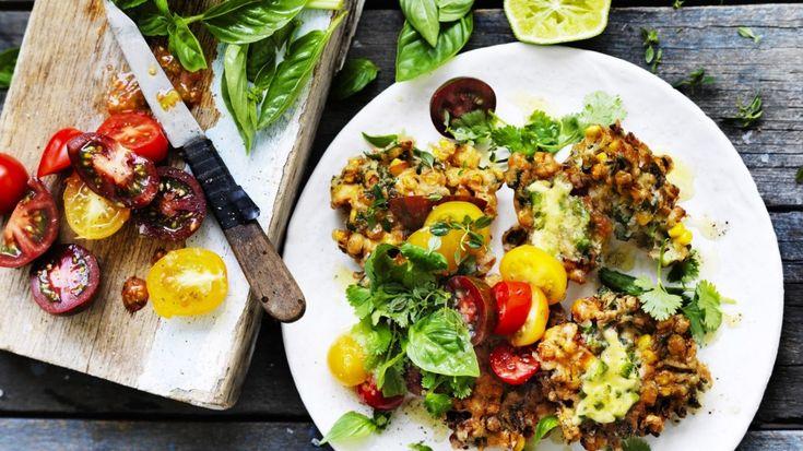 Weekly meal planner: Summer vegetarian