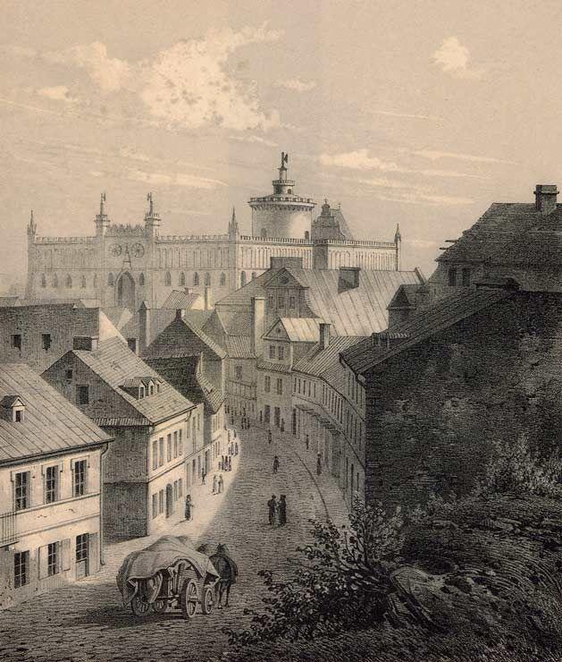 Adam_Leure_-_widok_na_Zamek_Lubelski_(1860).jpg (629×740)