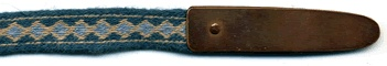 Anglo-saxon tablet-woven belt