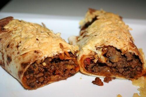 Wrap uit de oven met gehakt - De keuken van Ursie