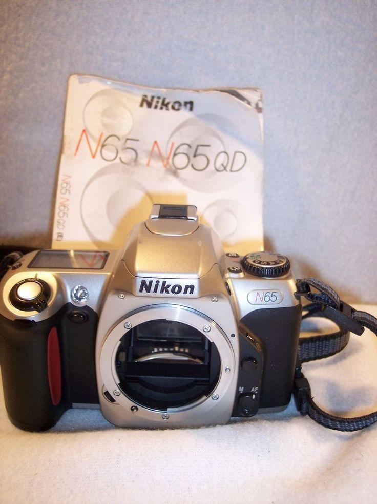 Vintage Nikon N65 35mm Takes Film SLR Camera Body Only  #Nikon