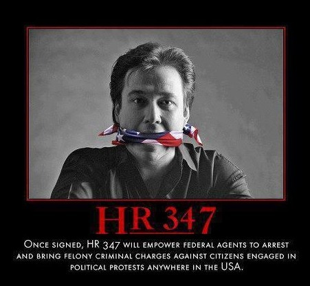 Those of you 'intentionally un-informed' people, look up HR 347. I hope it might startle SOMEONE to wake up!