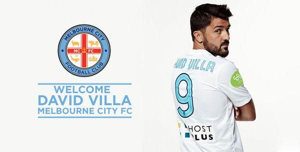 Melbourne City FC Next stop, Melbourne! David Villa is on his way to Melbourne City. Details >http://bit.ly/VillaArrival