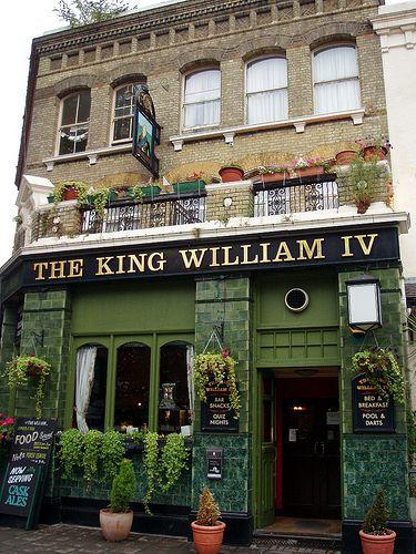King William IV, Pimlico, SW1 by Ewan-M, via Flickr