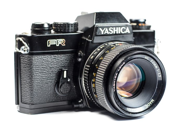 Yashica FR 35mm SLR Camera with Yashica ML 50mm Lens #Yashica #Camera #Vintage #Photography #Filmphotography