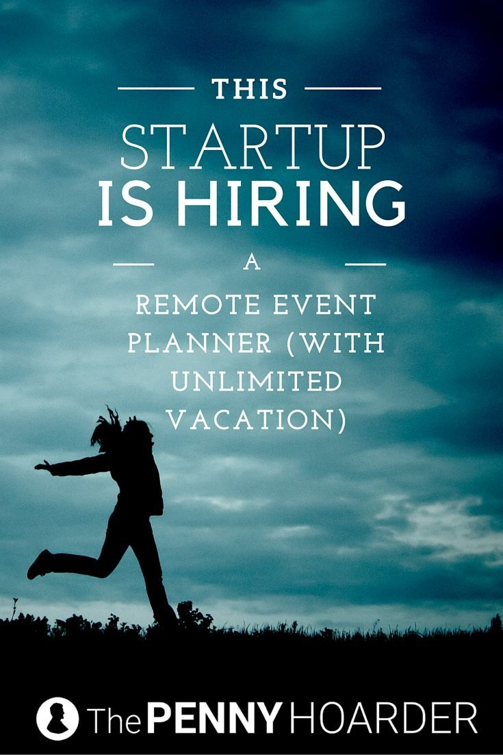 Searching for event coordinator jobs? How about one where you can work remotely, but also travel frequently to interesting events? This tech startup has the job for you… - The Penny Hoarder http://www.thepennyhoarder.com/remote-event-coordinator-jobs/