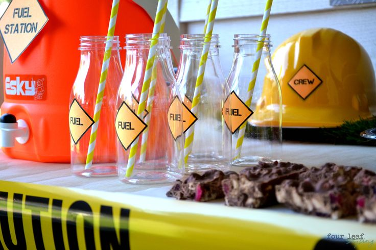 Fuel Station | Construction party Styled by Four Leaf | May, 2014
