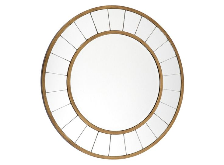 Elegant timeless, this beautiful Ingrid Wall Mirror, has an Antique Gold frame with 4mm bevelled edge glass. The side of the mirror is finished with a black wooden frame.This glamorous piece would...