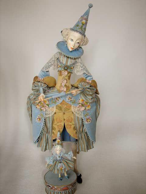 Annadan Boudoir Dolls/Haute Couture. Голубой театр