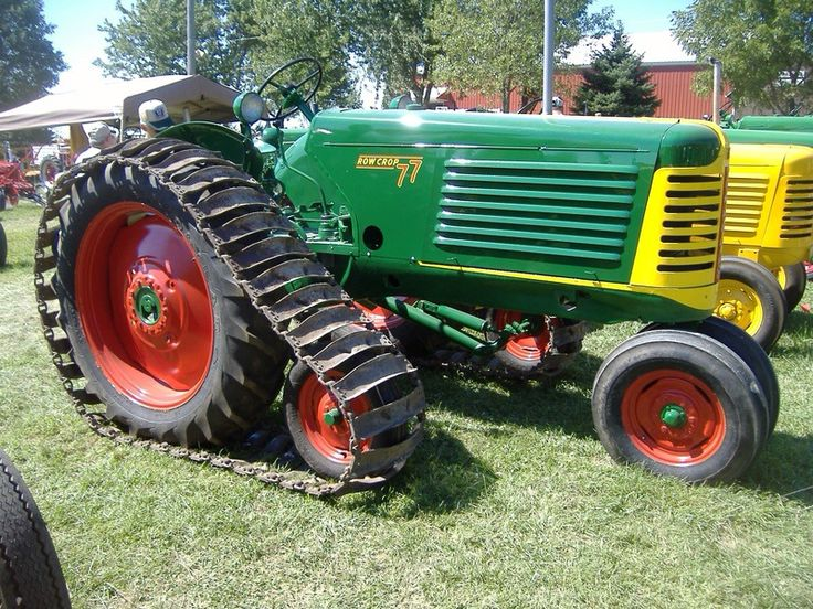 Old Tractor With Tracks : Best tractors images on pinterest old