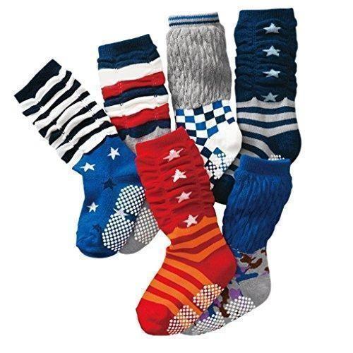 Oferta: 15.99€. Comprar Ofertas de Happy Cherry - (Pack de 6 pares) Calcetines Zapatos Gruesos Antideslizantes para bebés niños niñas 0-24 meses - 12cm barato. ¡Mira las ofertas!