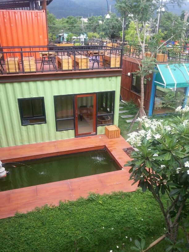 Container hotel in chiangmai