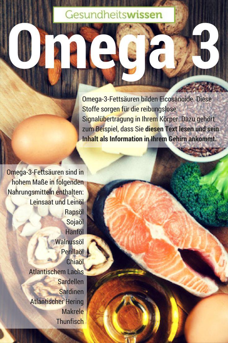 Omega-3-Fettsäuren, altertümlich auch als Vitamin F bezeichnet, gehören zu den Omega-n-Fettsäuren, welche zu den ungesättigten Fettsäuren zählen. Sie sind essentielle, also lebensnotwendige Stoffe. Schwangere sollten besonderen Wert auf eine Versorgung mit Omega-3-Fettsäuren legen; nicht nur braucht der Fötus Omega-3 zur gesunden Entwicklung, sondern auch die Gefahr von Frühgeburten und Wochenbettdepressionen wird durch einen genügend hohen Omega-3-Spiegel gesenkt.