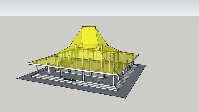 Rumah Jawa - Joglo Sinom Apitan - 3D Warehouse