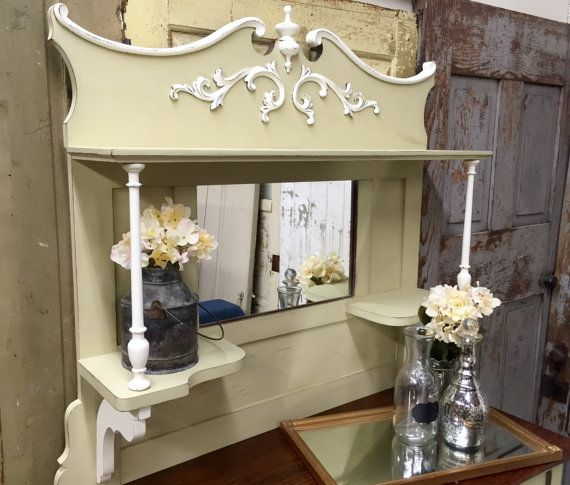 Victorian Sideboard Shabby Chic Buffet Buffet by VintageHipDecor