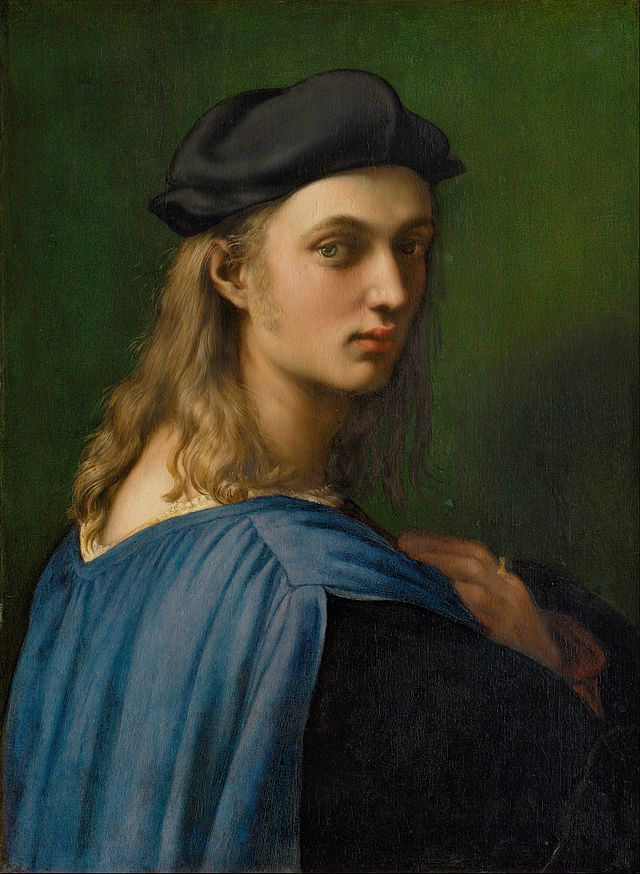 Raffaello Sanzio da Urbino (1483 – 1520), known as Raphael, was an Italian painter and architectof the High Renaissance. Portrait of Bindo Altoviti, c. 1514
