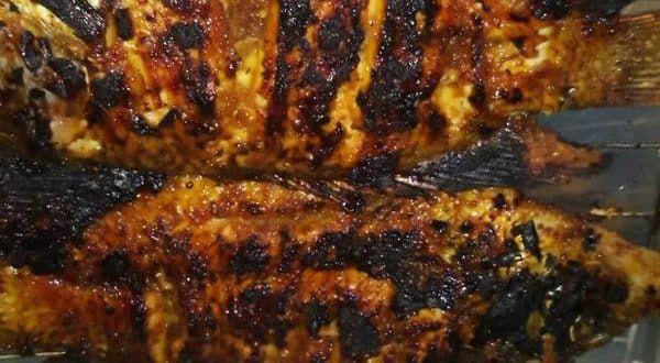Resep bumbu ikan gurame bakar madu bumbu rujak pedas manis enak